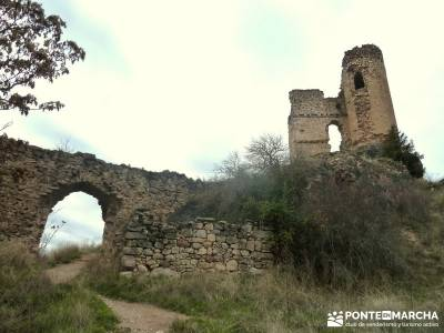 Barranco Río Dulce; rutas patones de arriba sierra madrid pueblos sendas verdes de madrid